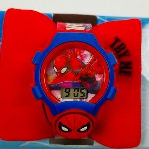 Spiderman Light Up Watch